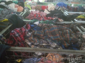 Wholesale Bundle Used Clothing/Second Hand Clothing Export to Africa pictures & photos