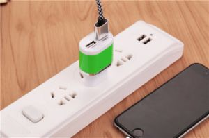 EU Plug 5V2a Color USB Charger pictures & photos