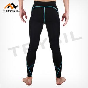 Men Wearing Leggings Clothes Sport Long Pants Sportswear pictures & photos
