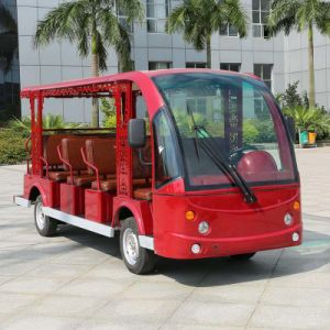 Ce Approved Four Wheel Electric Vehicle for Sightseeing (DN-14) pictures & photos