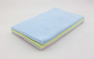 Kitchen Dish Cloths Made of Polyester Viscose Spunlace Nonwoven Fabric pictures & photos