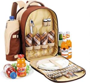 Custom Picnic Backpack for 4 Person pictures & photos