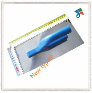 New Type Stainless Steel Blade with Plastic Handle Plastering Trowel pictures & photos