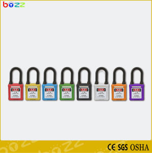 Bd-G11dp 38mm Nylon Shackle Safety Padlock pictures & photos