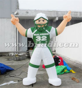 Hot Sale Inflatable Football player Balloon to USA K2098 pictures & photos