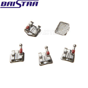 Factory Price Bondable Metal Orthodontic Roth Dental Bracket pictures & photos