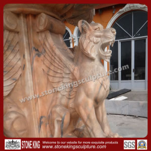 Pure Manual Carved Natural Marble Fountain pictures & photos