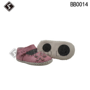 Soft Leather Toddler and Infant Shoes pictures & photos