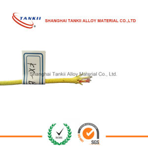 Fiberglass thermocouple extension wire 2*0.711mm red and yellow with 400 centigrade degrees pictures & photos