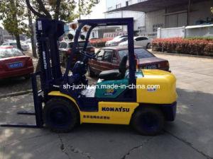 Used Komatsu Fd30 3 Ton Diesel Forklift Original Japan Toyota Tcm Nissan Komatsu Forklift for Sale pictures & photos