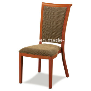 Great Look Hotel Imitating Wood Chair Dining Chair pictures & photos