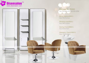 Popular High Quality Salon Furniture Mirror Barber Salon Chair (P2041E) pictures & photos