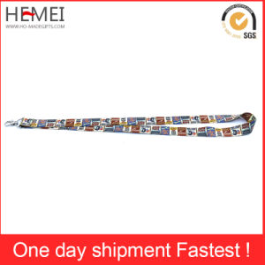Wholesale Cheap Promotion Printed Neck Lanyard pictures & photos