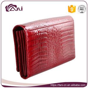 Long Crocodile Grain Women Wallet Genuine Leather pictures & photos