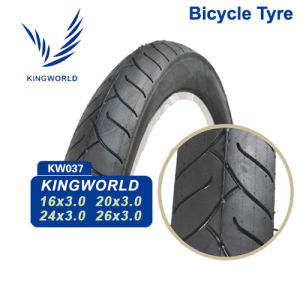 "16"" Solid Rubber Bicycle Tire pictures & photos"