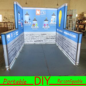 Portable, Versatile, Reusable Shape Illuminated Trade Show Booth pictures & photos