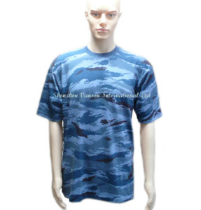 High Quality Blank Camo T Shirt Made in China pictures & photos
