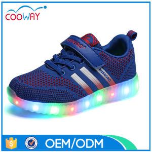 New LED Luminous Shoes Light up Cheap Men Leisure Sneakers