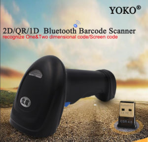 2D Bt Scanner Yk-Bwm3 Bluetooth Scanner pictures & photos