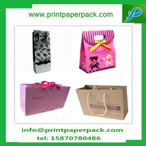Wholesale Luxury Printing Paper Shopping Bag with Logo Cosmetic Bag pictures & photos