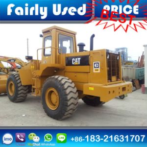 Used Cat 966e Pave Loader with Log Fork for Sale pictures & photos