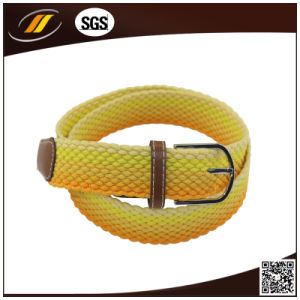 Colorful Polyester Elastic Stretch Woven Fashion Belts