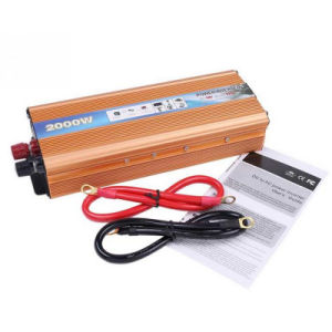 2000W Car Charger Power Inverter DC 12V to AC 220V Modified Sine Wave Converter with USB pictures & photos