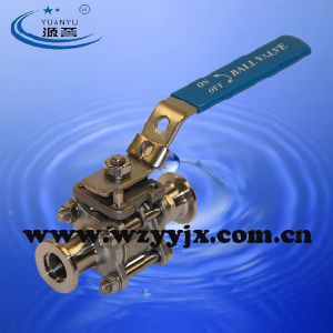 Stainless Steel Vacuum Kf Ball Valve pictures & photos