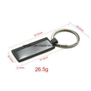 Custom Souvenir House Shape Metal Key Holder pictures & photos