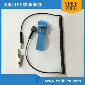 Es16101 Blue ESD Wired Wrist Strap