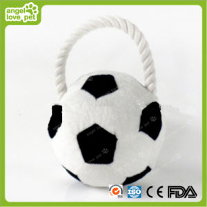Pet Short Plush Soccer Dog Chew Toys pictures & photos