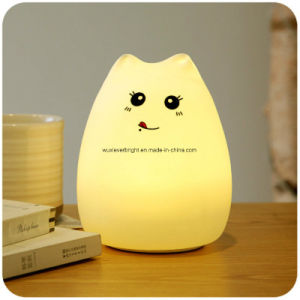 Silicone Kids Night Light with Tap Control and USB Charge pictures & photos