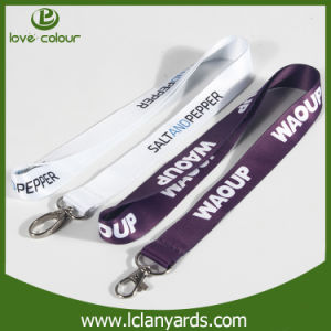 Transfers Strap Polyester Heat- Sublimation Lanyard for Company