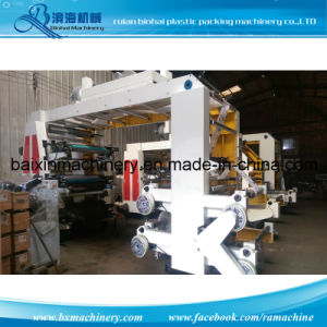 Chamber Doctor Blade PE Film Flexographic Printing Machine Camera Inspect pictures & photos
