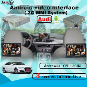 Car Upgrade Android GPS Navigation Video Interface for A6l/Q7/A8/A4l/A5/A1/Q3 (3GMMI) pictures & photos