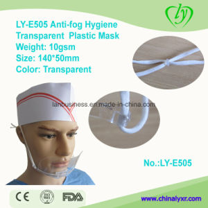 Ly-E505 Anti-Fog Hygiene Transparent Plastic Smile Mask pictures & photos
