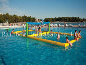 Interesting Giant Inflatable Volleyball Court for Adults/Inflatable Summer Water pictures & photos