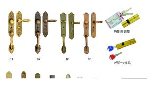 Security Door China Iron Door Iraq Like Yellow Wood Color (FD-530) pictures & photos