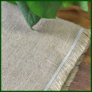 100%Natural High Quality Jute Hessian Cloth pictures & photos