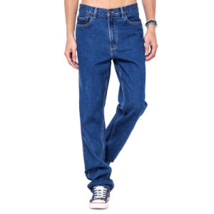 OEM Men Work Trousers Basic Cheap Denim Pants pictures & photos
