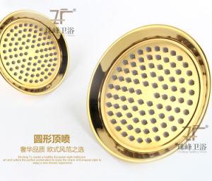 New Design Single Handle Zf-701-1 Jade Brass Shower Set pictures & photos