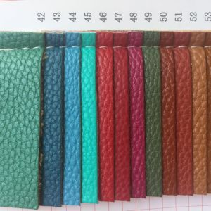 Fashion Lychee PU Leather for Making Children′s Bags pictures & photos