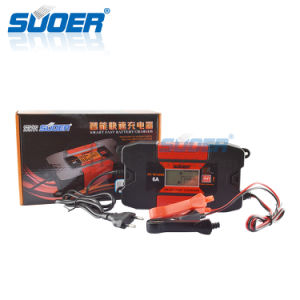 Suoer 12V 6A Intelligent Smart Fast Battery Charger with Ce (DC-W1206A) pictures & photos