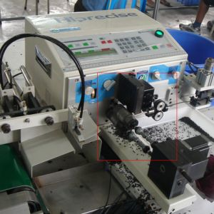 Computerized Double Cable Stripper Machine, Wire Twisting and Stripping Machine pictures & photos
