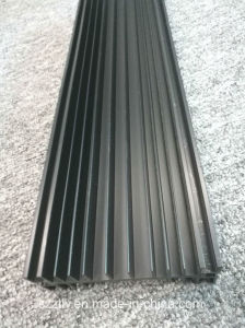 6063 6061 Black Oxidation / Anodization Aluminum Extruded Heatsink pictures & photos