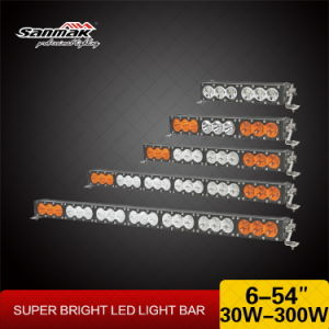 Amber White Color CREE 10W 12V Waterproof LED Light Bar for Offroad Truck pictures & photos