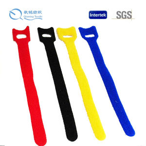 Size and Packing Customized Nylon/Polyester/Mixed Velcro Strap Ties for Different Application pictures & photos