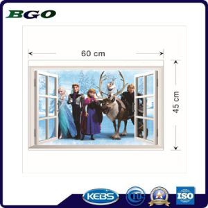 Removable Decorative Film 3D Wall Stickers Frozen pictures & photos