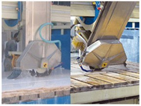 Automatic Laser Marble Granite Stone Bridge Saw&Cutting Machine with 45 Blade Tilting pictures & photos