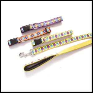 Elastic Extendable Retractable Leather Pet Dog Shock Leash Leads Supply Products pictures & photos